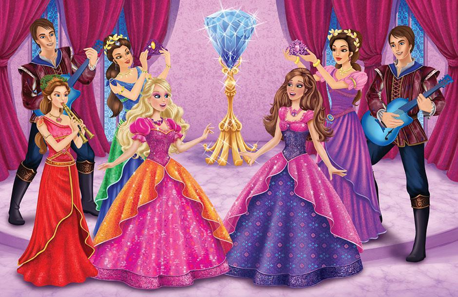 Barbie And The Diamond Castle Wallpaper