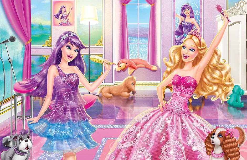 Ulkutay creative - Barbie princesse popstar ...